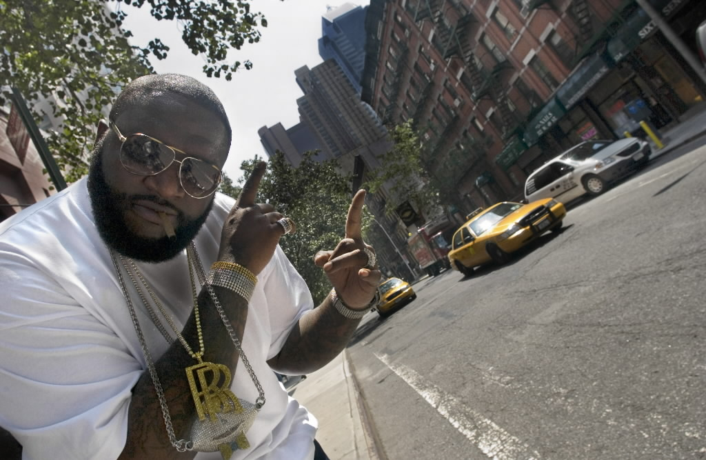 1947146 bytes; 3008 x 1960; Rapper Rick Ross is photographed in New York, Aug. 1, 2006.  ( AP Photo/ Jim Cooper) ORG XMIT: NYET3