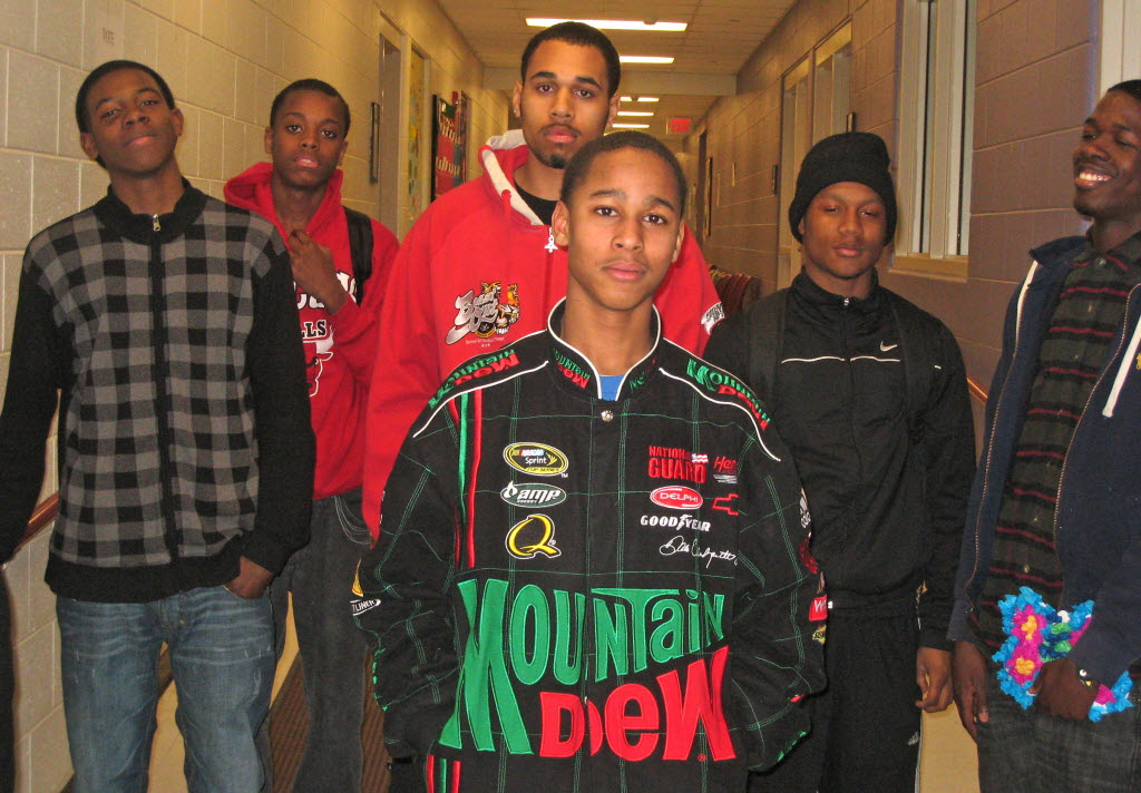 1061056 bytes; 2400 x 1671; causcol03 --- Black youth from the Silver Spring Neighborhood Center said they believe black boys ge